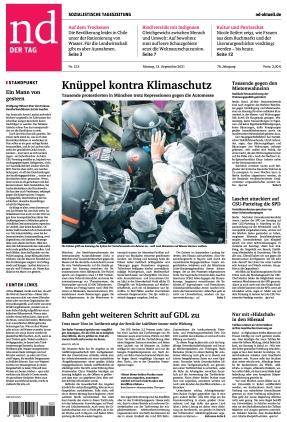 Neues Deutschland (13.09.2021)
