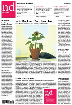 Neues Deutschland (15.09.2021)