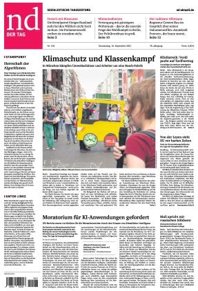 Neues Deutschland (16.09.2021)