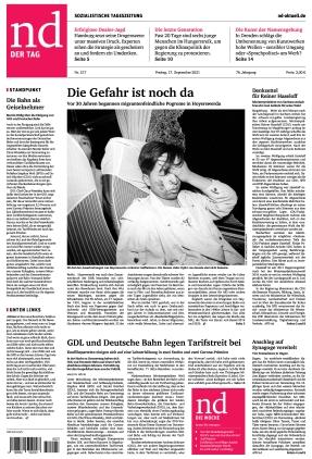 Neues Deutschland (17.09.2021)