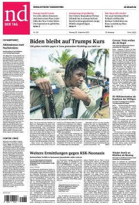 Neues Deutschland (20.09.2021)