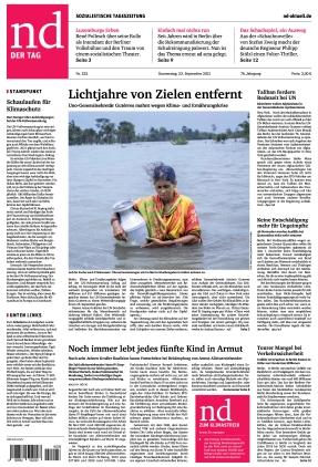 Neues Deutschland (23.09.2021)