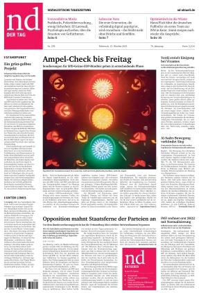Neues Deutschland (13.10.2021)
