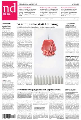 Neues Deutschland (14.10.2021)