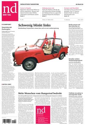 Neues Deutschland (15.10.2021)