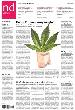 Neues Deutschland (18.10.2021)