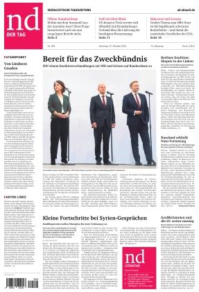 Neues Deutschland (19.10.2021)