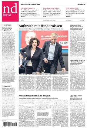 Neues Deutschland (26.10.2021)