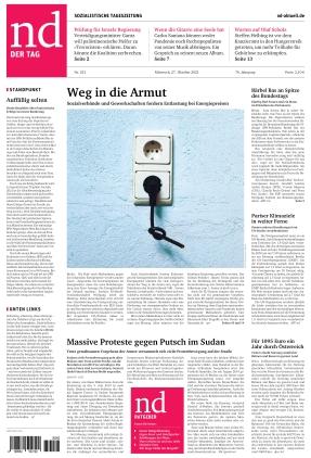 Neues Deutschland (27.10.2021)
