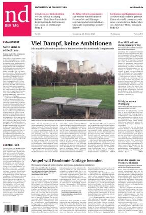 Neues Deutschland (28.10.2021)