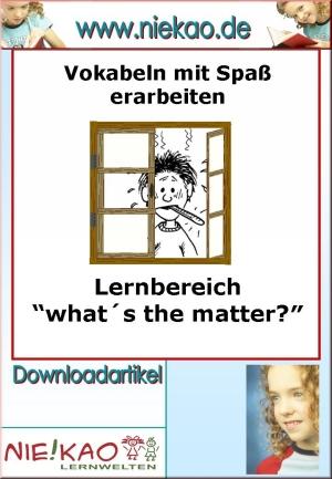 "Lernbereich ""What's the matter?"""