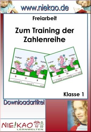 Zum Training der Zahlenreihe