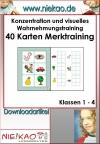Konzentration und visuelles Wahrnehmungstraining