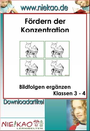 Bildfolgen ergänzen Klassen 3-4