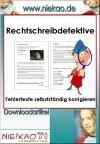 Vergrößerte Darstellung Cover: Rechtschreibdetektive. Externe Website (neues Fenster)