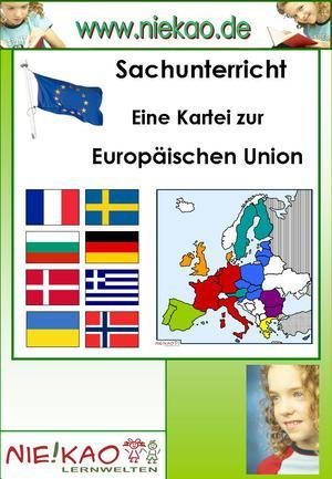 Eine Kartei zur Europäischen Union