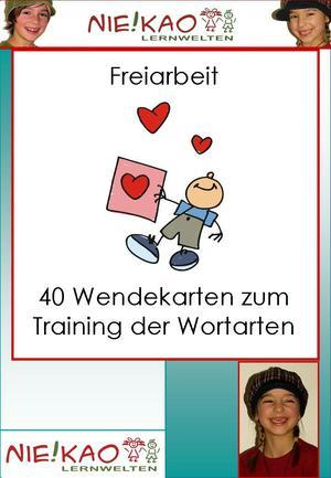 40 Wendekarten zum Training der Wortarten