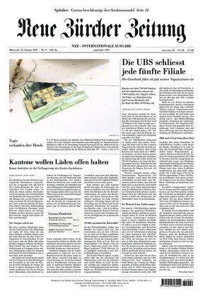 Neue Zürcher Zeitung International (13.01.2021)