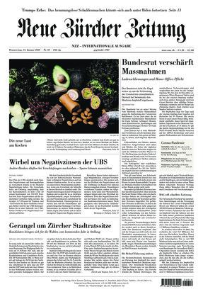 Neue Zürcher Zeitung International (14.01.2021)