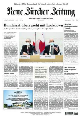 Neue Zürcher Zeitung International (15.01.2021)