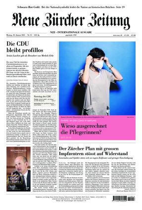 Neue Zürcher Zeitung International (18.01.2021)