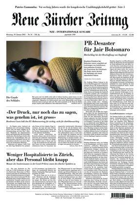 Neue Zürcher Zeitung International (19.01.2021)