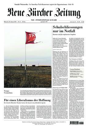 Neue Zürcher Zeitung International (20.01.2021)