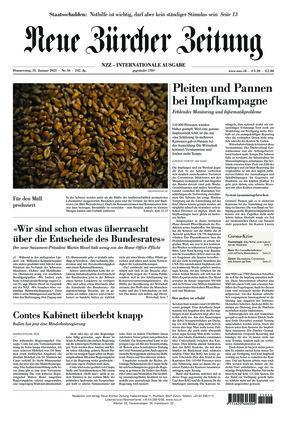 Neue Zürcher Zeitung International (21.01.2021)