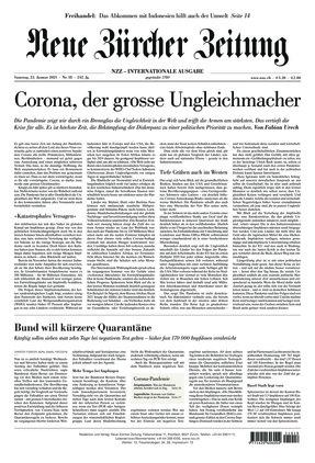 Neue Zürcher Zeitung International (23.01.2021)