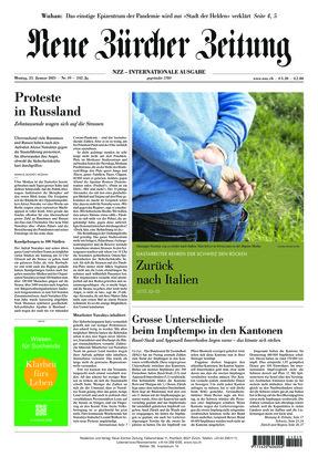 Neue Zürcher Zeitung International (25.01.2021)