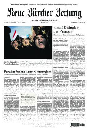 Neue Zürcher Zeitung International (26.01.2021)