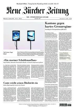 Neue Zürcher Zeitung International (27.01.2021)
