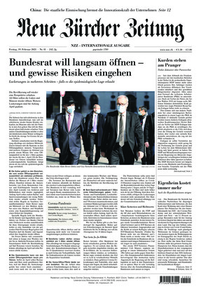 Neue Zürcher Zeitung International (19.02.2021)