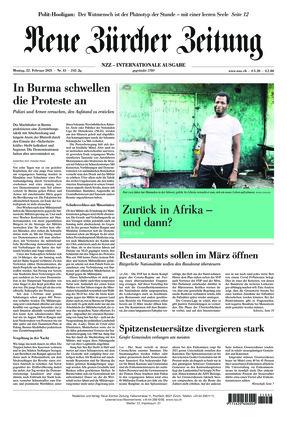 Neue Zürcher Zeitung International (22.02.2021)