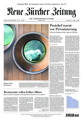 Neue Zürcher Zeitung International (23.02.2021)