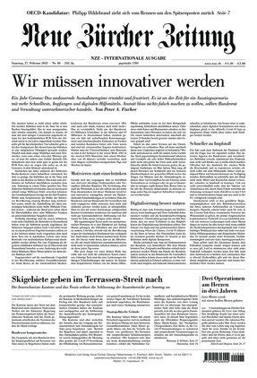 Neue Zürcher Zeitung International (27.02.2021)