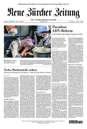 Neue Zürcher Zeitung International (02.03.2021)
