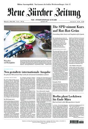 Neue Zürcher Zeitung International (03.03.2021)
