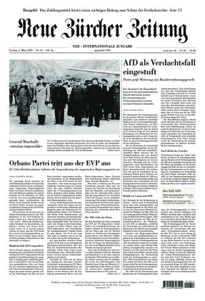 Neue Zürcher Zeitung International (05.03.2021)