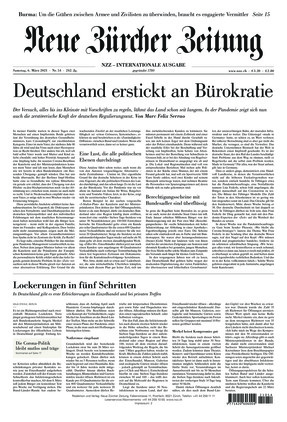 Neue Zürcher Zeitung International (06.03.2021)