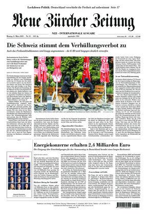 Neue Zürcher Zeitung International (08.03.2021)
