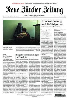 Neue Zürcher Zeitung International (09.03.2021)