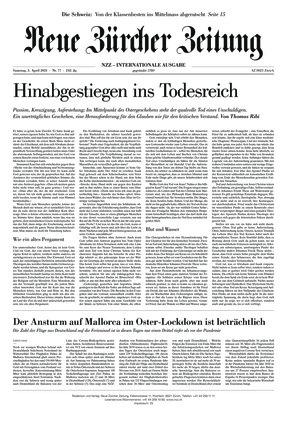 Neue Zürcher Zeitung International (03.04.2021)