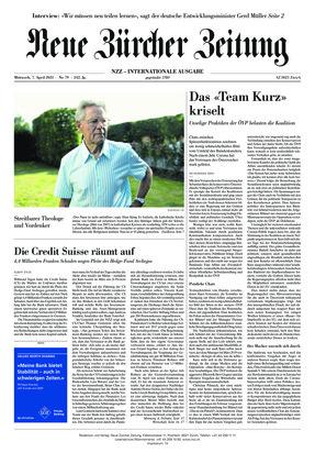 Neue Zürcher Zeitung International (07.04.2021)