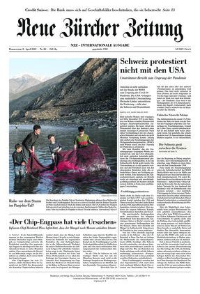 Neue Zürcher Zeitung International (08.04.2021)