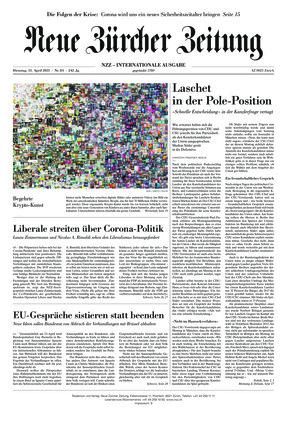 Neue Zürcher Zeitung International (13.04.2021)