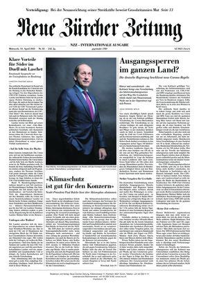 Neue Zürcher Zeitung International (14.04.2021)