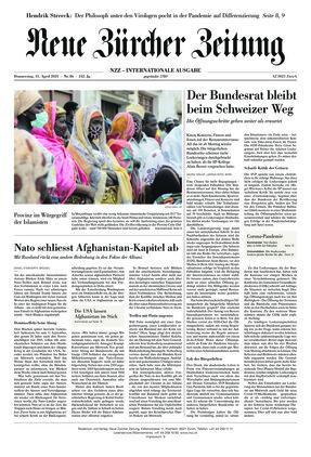 Neue Zürcher Zeitung International (15.04.2021)