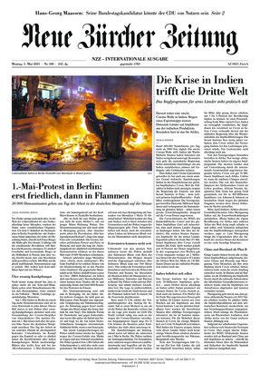 Neue Zürcher Zeitung International (03.05.2021)