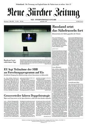 Neue Zürcher Zeitung International (04.05.2021)